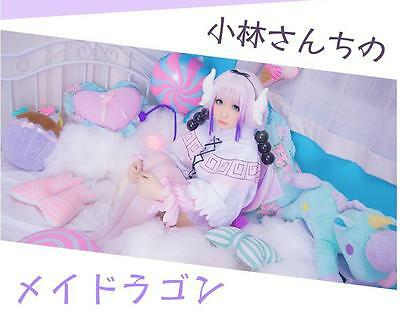 Cosplay Kobayashi-san Chi no Maid Dragon Costumes Kostüme - Kopf Maid Kostüme