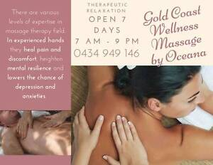 MASSAGES From $40.00 @ Oceana's Nurturing Therapeutics 15yrs EXP Broadbeach Waters Gold Coast City Preview
