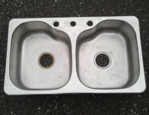 Kitchen Stainless Double Sink