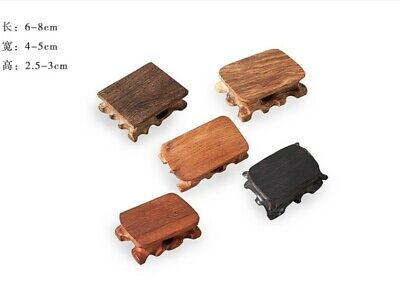 5PC Wood Conformal base Display Base Stand Crafts Decoration bracket