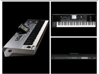 Professional keyboard korg pa3x 76 key + A gator keyboard case with wheels, hardly used