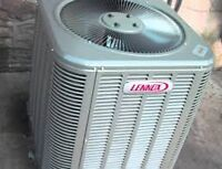 Lennox used 1.5 ton central air ,installation available