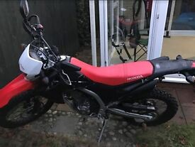 US Spec Honda CRF250L New 2014 , Road Registered