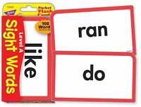 Trend Kids Childrens Sight Words (level A) Pocket Flash Cards - trend enterprises - ebay.co.uk