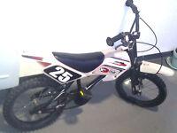 "Boys Bike MotoCross Style MXR750 16"" Wheel (5-8 Years Age) Fully Working Order!"