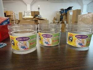 41 Brand New Clear Retail Merchandise Plastic Tubs -Use anywhere