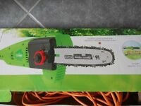 Electric Pole Pruner/ small chain saw or branch cutter