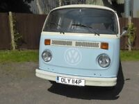 1976 VOLKSWAGEN T2 BAY-WINDOW DAY VAN CAMPER - LHD