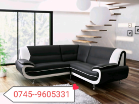 _Corner Palmero Black & White Sofa Sale