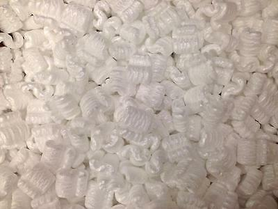 16 Cubic Cu Ft Feet Loose Fill Shipping Packing Peanuts 120 Gallons Free Ship