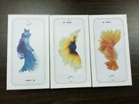 APPLE IPHONE 6S 128GB UNLOCKED BRAND NEW COMES WITH APPLE WARRANTY AND RECEIPT