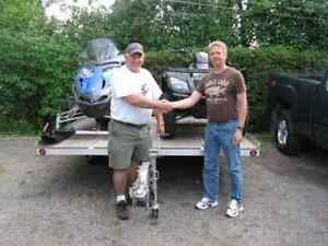ATV, Snowmobile, & Trailer, Fathers Day Draw Package