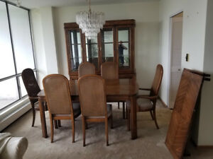 Dinning Room set, living room tables, sofa and loveseat