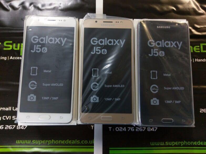 SAMSUNG GALAXY J56 BLACK 16GB BRAND NEW UNLOCKED