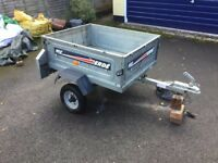 Halfords 102 Erde trailer (w/cover + spare tyre)