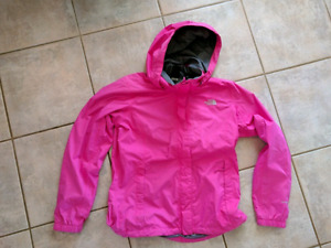 Pink North Face women's jacket size large