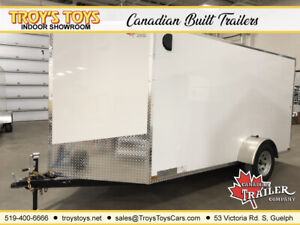2019 Canadian Trailer Company 6x12 V-Nose Cargo Trailer
