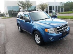 2010 Ford Escape xlt with low kms for sale!!
