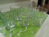 Glasses - set of 6