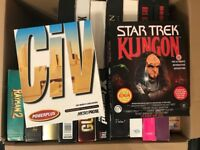21 Big Box PC Games - Various Titles - Collection Only