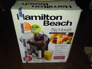 Hamilton Beach HealthSmart Juice Extractor - 67608C
