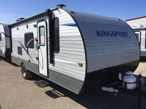 New 2019 Gulf Stream Kingsport 199RK Travel Trailer