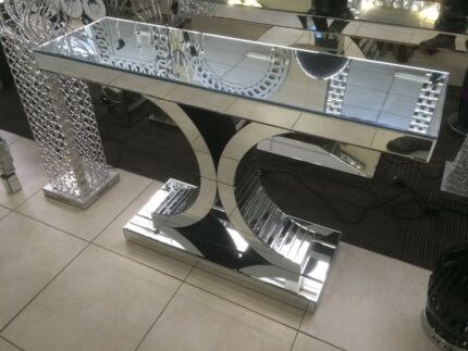MODERN INDOOR GLASS HALL STAND / TABLE Beckenham Gosnells Area Preview