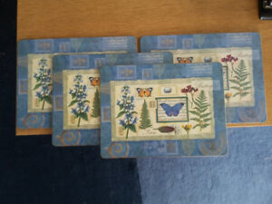 Pimpernel Cork backed placemats