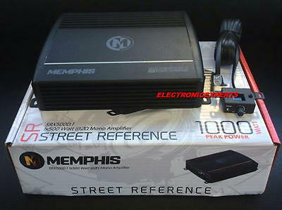 16-SRX500D.1 Memphis Monoblock 500W RMS 1000W Max Street Amplifier