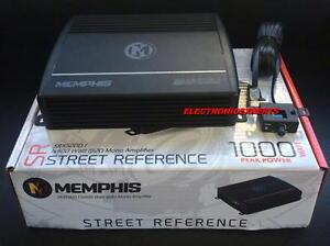 New Memphis 16-SRX500D.1 1000 Watt Max Class D Monoblock Amplifier Mono Sub Amp