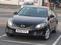 *LOW MILEAGE* MAZDA 6 2.0L TS2, 2 P OWNER FSH MAZDA6 NOT FORD MONDEO, SAAB 9-3, VOLVO S40 S60