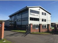 MODERN OFFICE SPACE-1,500 SQ.FT-LOW LOW RENT ONLY £7,000/ YEAR!!- UNIT TO LET- RENT - LEASE-HUCKNALL