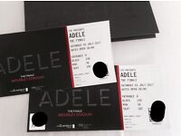Adele The Finale Tickets x2 Saturday 1st July Wembley