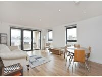 Modern 2 double bedroom 2 bathapartment with balcony,communal garden and bike store in Oval Quarter