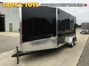 2019 Canadian Trailer Company 7X16 Super V-Nose Cargo Trailer
