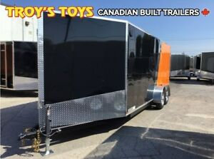 2019 Canadian Trailer Company 7X18 Super V-Nose Cargo Trailer