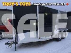 2019 Canadian Trailer Company SALE 7X14 V-Nose Cargo Trailer