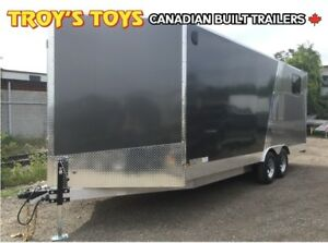2019 Canadian Trailer Company 8.5X20 V-Nose Cargo Trailer