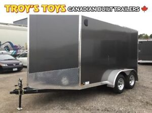 2019 Canadian Trailer Company 7X12 V-Nose Cargo Trailer