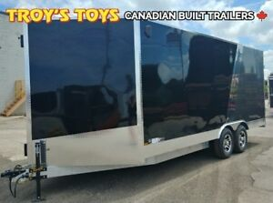 2019 Canadian Trailer Company 8.5X18 V-Nose Cargo Trailer