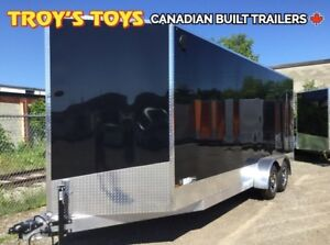 2019 Canadian Trailer Company 7X20 V-Nose Cargo Trailer