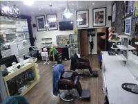 This Tattoo and barber shop is a great locaion on the Main Road on Romford Road.