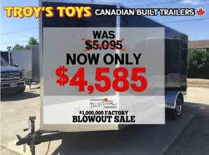 2018 Canadian Trailer Company FACTORY BLOWOUT SALE! 6X14 V-Nose