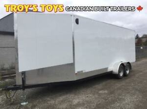 2019 Canadian Trailer Company 7X20 Super V-Nose Cargo Trailer