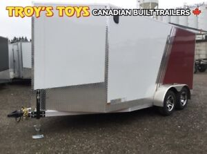 2019 Canadian Trailer Company 7X14 V-Nose Cargo Trailer