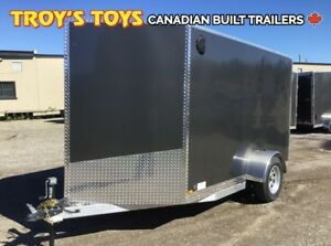 2019 Canadian Trailer Company 6X10 V-Nose Cargo Trailer