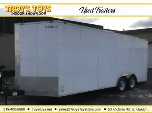 2010 KING AMERICAN AND DIAMOND 8.5x20 V-Nose Enclosed Cargo Trai