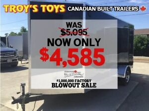 2018 Canadian Trailer Company FACTORY BLOWOUT! 6X14 V-Nose Cargo