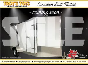 2019 Canadian Trailer Company SALE 7X12 V-Nose Cargo Trailer