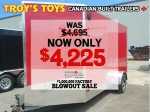 2018 Canadian Trailer Company FACTORY BLOWOUT! 6X12 V-Nose Cargo